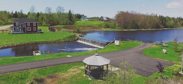 On Glenwood Pond