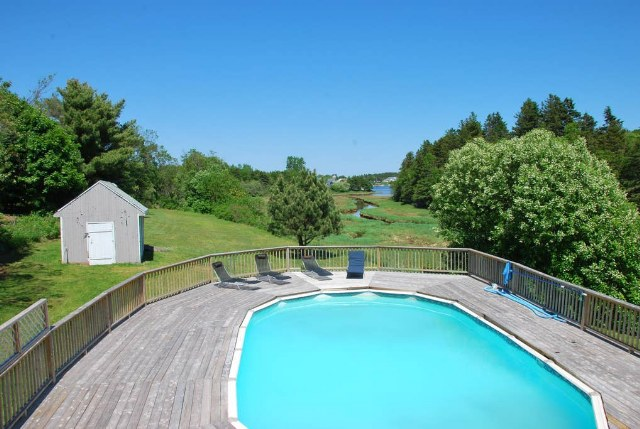 Great House w/ Pool With View of Rustico Harbour
